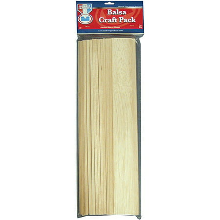 Midwest Products 30 Craft Pack, Balsa