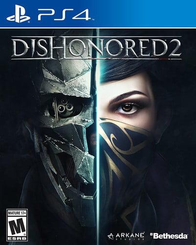 Dishonored 2, Bethesda, PlayStation 4, 093155171336