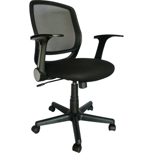 Mainstays Mesh Office Chair Black Walmartcom