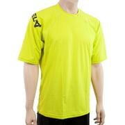 XCel Mens Big and Tall Shortsleeve Ventx Swim Shirt: Looser Fit Rashguard 30+UV