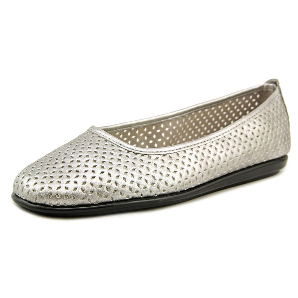 A2 By Aerosoles Solsa Dance Women Round Toe Synthetic Silver Flats by A2 By Aerosoles
