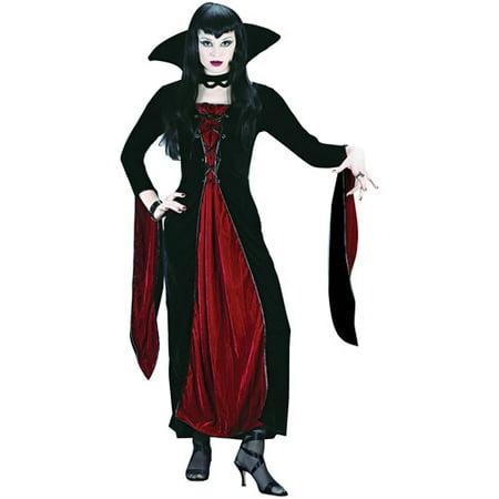 Velour Vampress Adult Halloween Costume