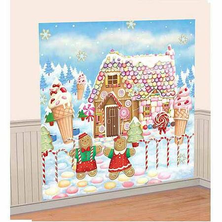 Sweet Holiday Scene - Crime Scene Decorations
