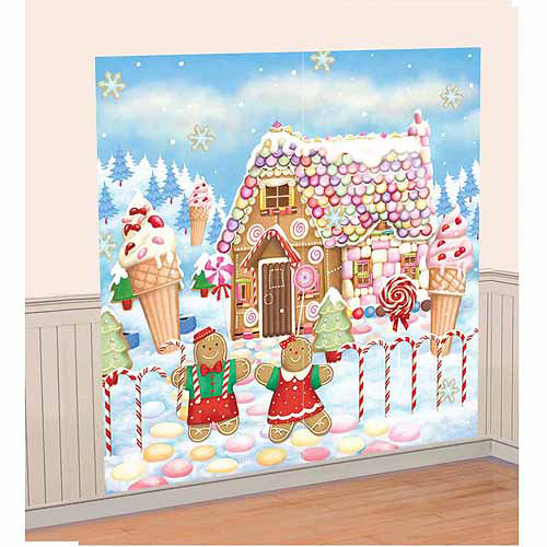 Sweet Holiday Scene Decoration