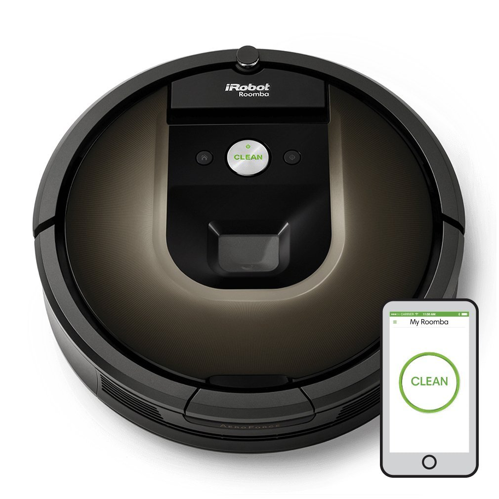 iRobot Roomba 980 Navigator Rechargeable Automatic Robotic Vacuum Cleaner
