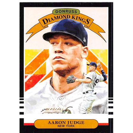 2019 Donruss #2 Aaron Judge New York Yankees Diamond Kings Baseball