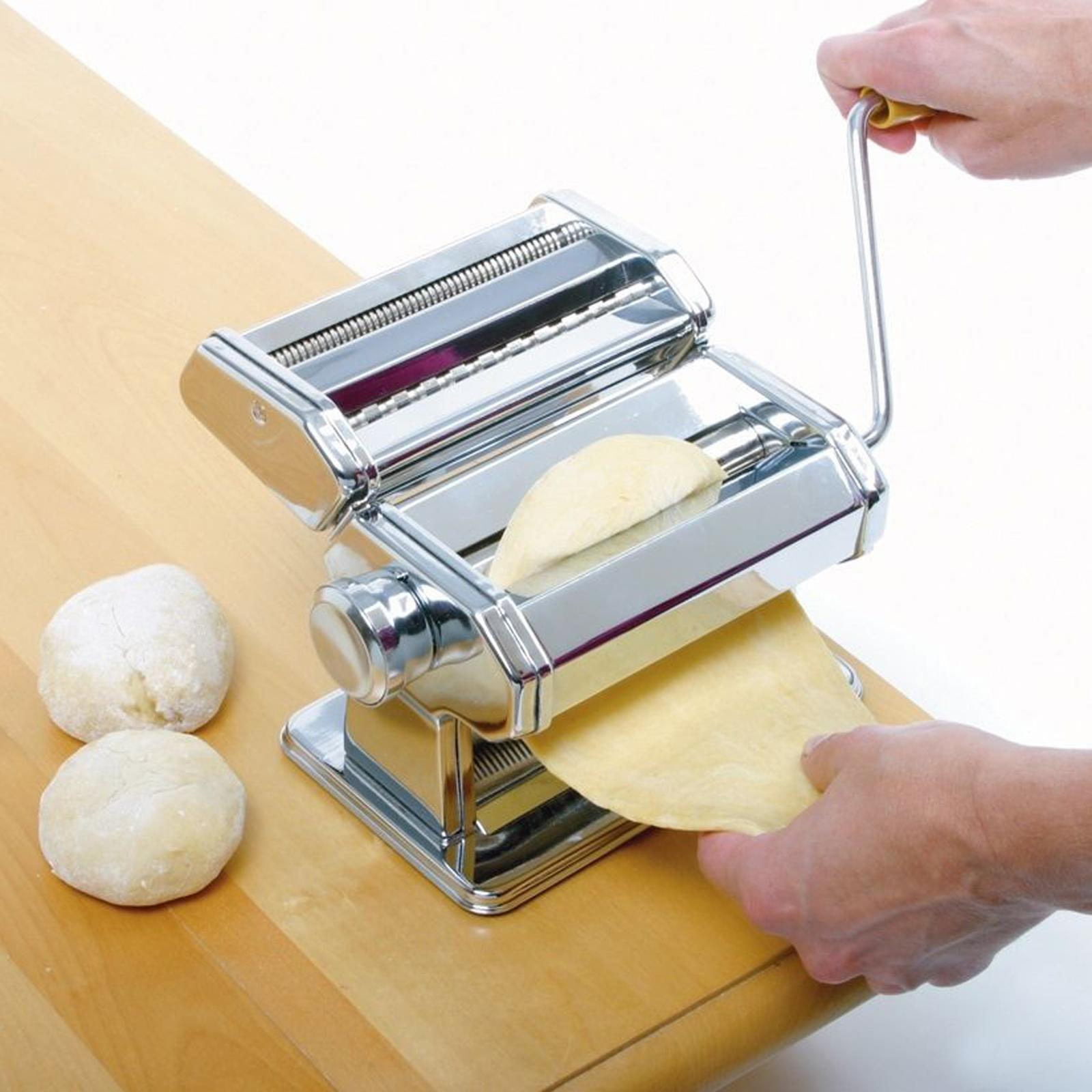 Kitchen Pasta Make Roller Machine Removable Dough Fresh Noodle Making DEAML