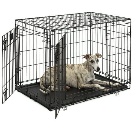 Large Midwest Life Stages - Midwest Life Stages Double Door Dog Crate
