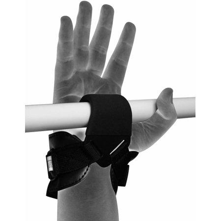 LIVEDITOR Auth Gewichtheben Griff Training Gym Strap Handschuhe Handgelenkschutz Bar D - image 7 de 7