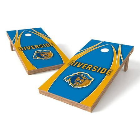 Wild Sports Collegiate Youngstown State U Shield 2x4 V Logo Tailgate Toss XL -