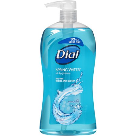 Dial Body Wash with Moisturizers, Spring Water, 32 Ounce
