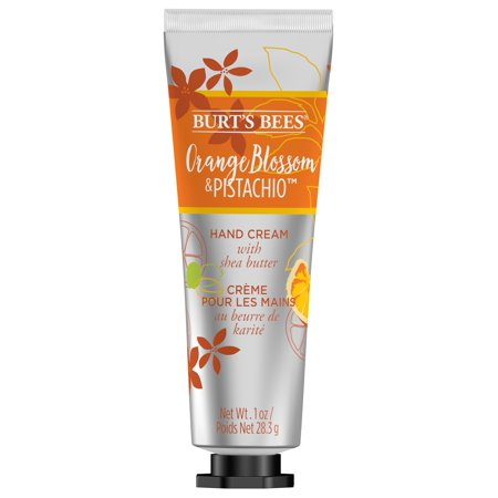 Burts Bees Hand Cream with Shea Butter, Orange Blossom & Pistachio 1 Ounce Tube