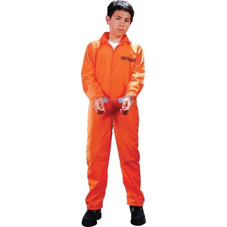 Morris costumes FW9734LG Got Busted Cost Child - Halloween Cust