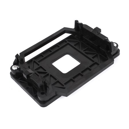 Unique Bargains Socket AM2 940 AMD CPU Fan Heatsink Motherboard Retainer Mounting Bracket Black