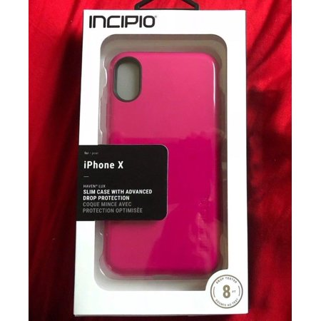 buy popular 183dd 3e1ac Incipio Haven LUX for iPhone XS and iPhone X - Berry Pink