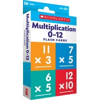 Flash Cards: Flash Cards: Multiplication 0 - 12 (Other)