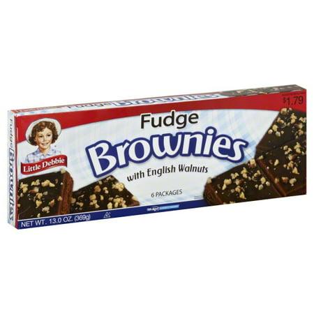 Little Debbie Fudge Brownies 12 count