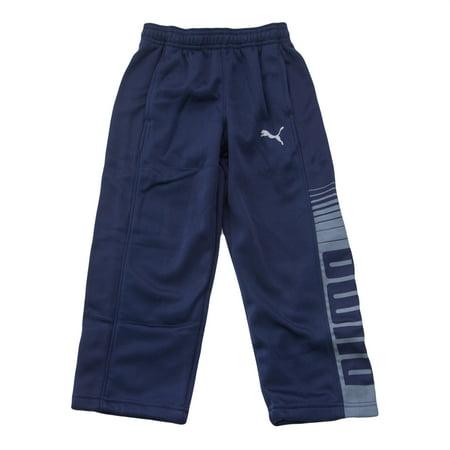 Boys Track Pants (Puma Kids Little Boy's Logo Track Pants)