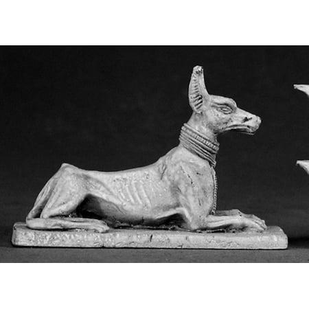 Reaper Miniatures Egyptian Jackal Statue #03008 Dark Heaven Unpainted Metal (Egyptian Jackal Mask)