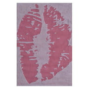 "The Rug Market Kiss Pink 2.8"" x 4.8"" Area Rug"