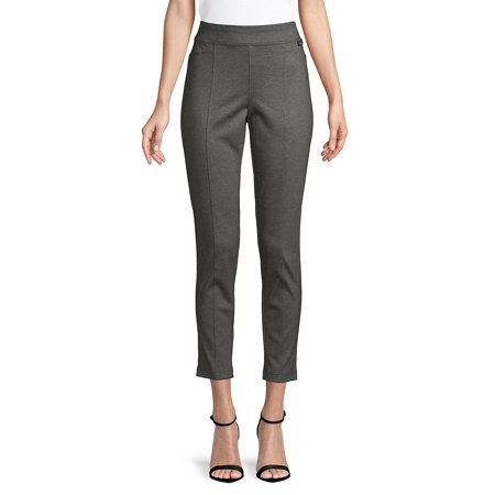 Woven Skinny Cropped Pants