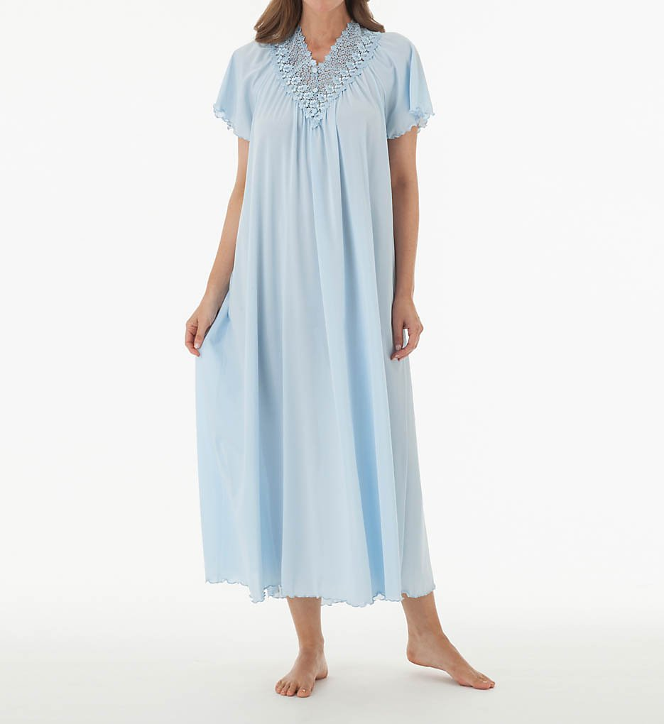 Shadowline 32275 Beloved 53 Inch Flutter Sleeve Gown