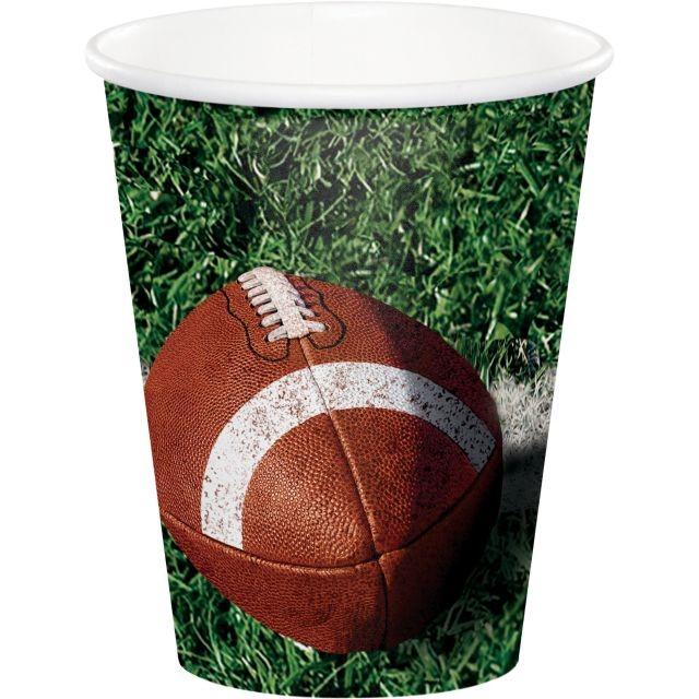 Party Creations Tailgate Rush Hot/Cold Cups, 9 Oz, 8 Ct