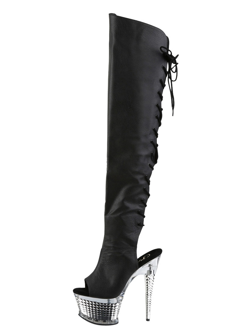 Women's Pleaser Illusion 3019 Over-the-Knee Boot