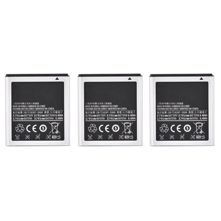 Battery for Samsung EBF1M7FLU (3-Pack) Replacement (Samsung Galaxy S Iii Mini Battery Life)