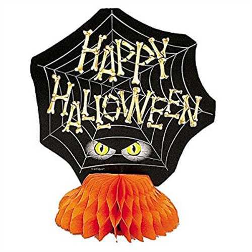 6 Mini Bones Halloween Centerpiece Decorations, 4ct