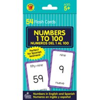 Brighter Child Flash Cards: Numbers 1 to 100 Flash Cards: Numeros del 1 Al 100 (Other)