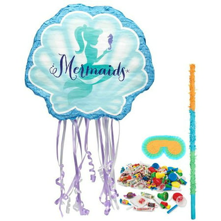Mermaids Under the Sea Pinata Kit - Mermaids Party Supplies