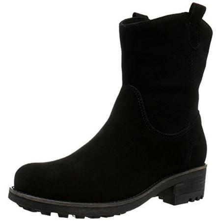 La Canadienne Women's Cece Suede Boot, Black, 6.5 M US