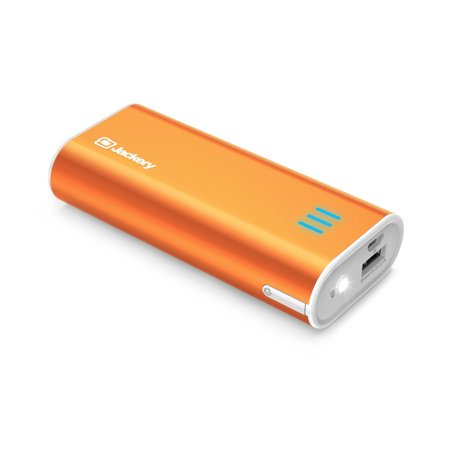 Power bank,Jackery Bar Pocket-sized 6000mAh Portable Battery Charger Quick Charger with LED Flashlight for iPhone, Samsung and Other Smartphones - (Best Power Bar For Iphone)
