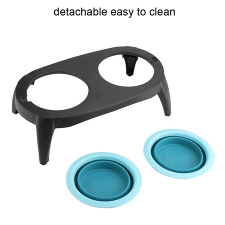 Portable Dog Water Bowl >> Vbestlife Portable Dog Feeding Bowl Foldable Dog Cup Collapsible