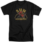 Sun Records Rocking Rooster Mens Big and Tall Shirt