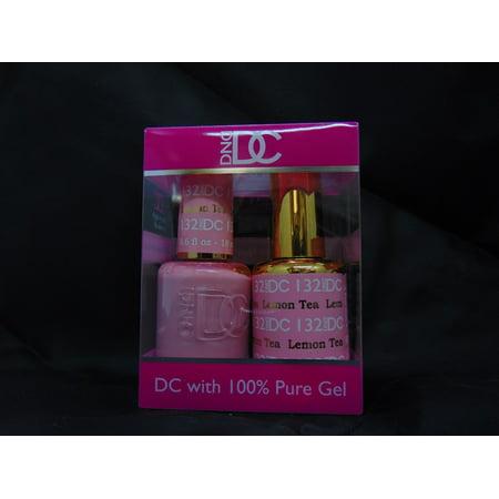 DND - DC Duo Soak off Gel & Matching nail polish, #132 - Lemon Tea
