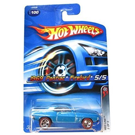 Red Line Series #5 1969 Pontiac Firebird Blue #2006-100 Collectible Collector Car Mattel 1:64 Scale, Perfect Hot Wheels Diecast for every collector! By Hot Wheels