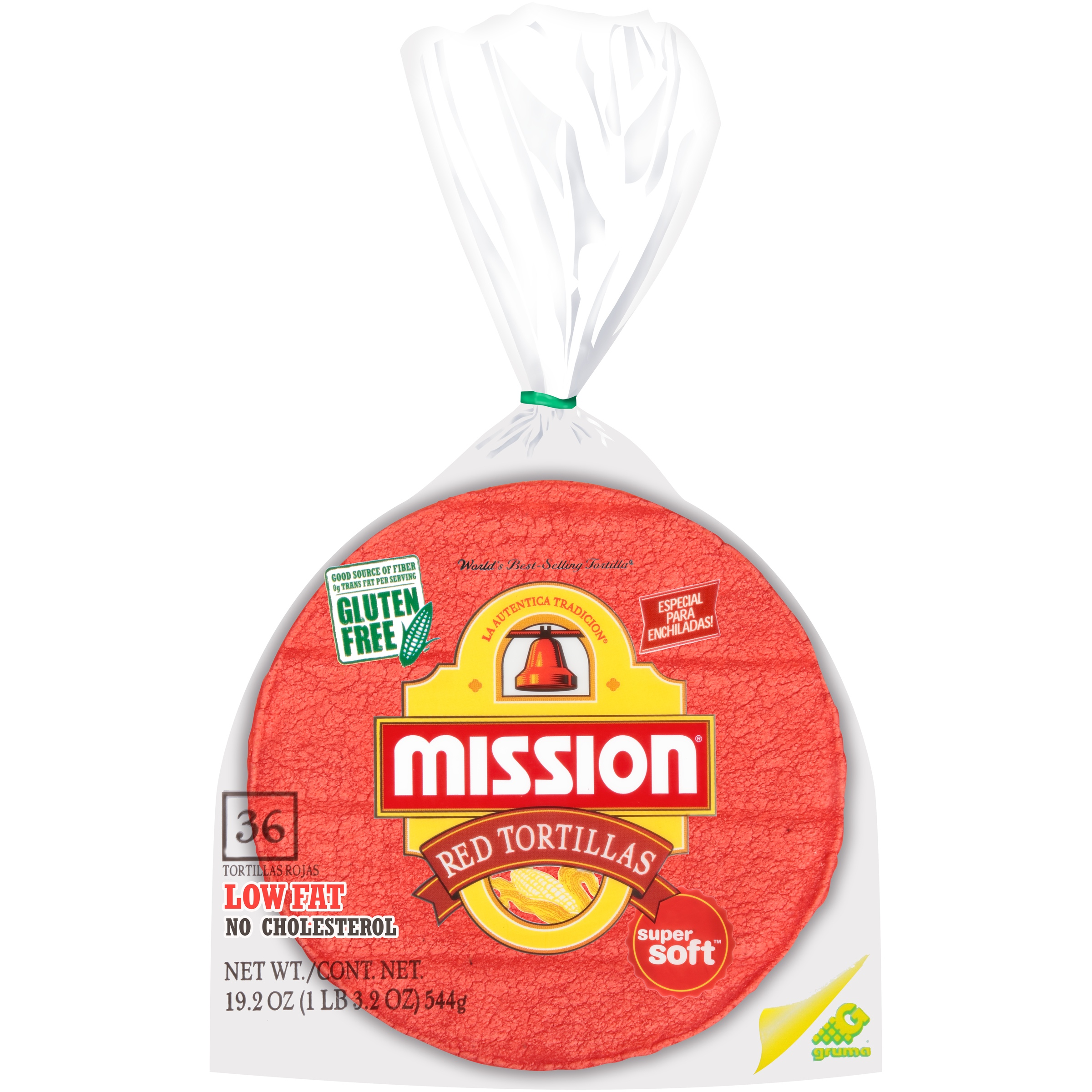Mission® Red Corn Tortillas 36 ct Bag