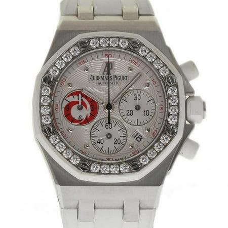 Pre-Owned Audemars Piguet Royal Oak Offshore 26076SK. Steel  Watch (Certified Authentic & - Royal Oak Offshore Replica
