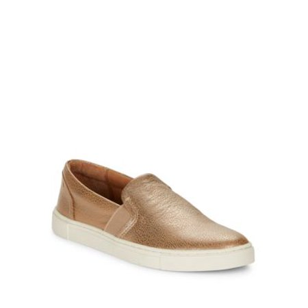 Ivy Leather Slip-On Sneakers