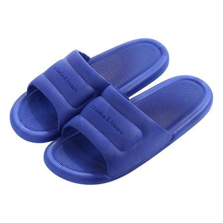 N297 Low Heels Slippers Summer Men Women Home Bathroom Non-slip Slippers - image 1 de 8