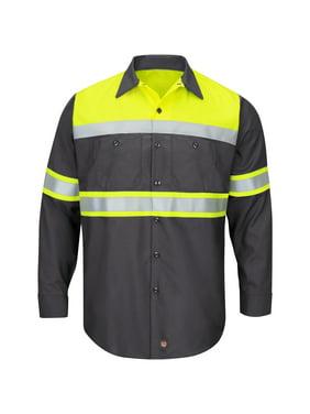 192b8789b70e Mens Big & Tall Work Shirts - Walmart.com