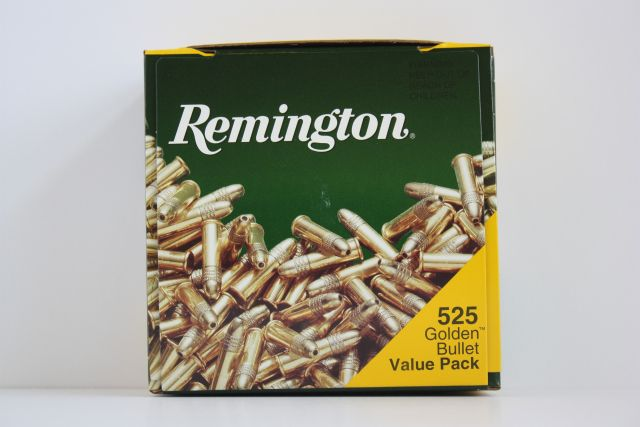 Remington RF 22 Golden Bullet 525 Rounds