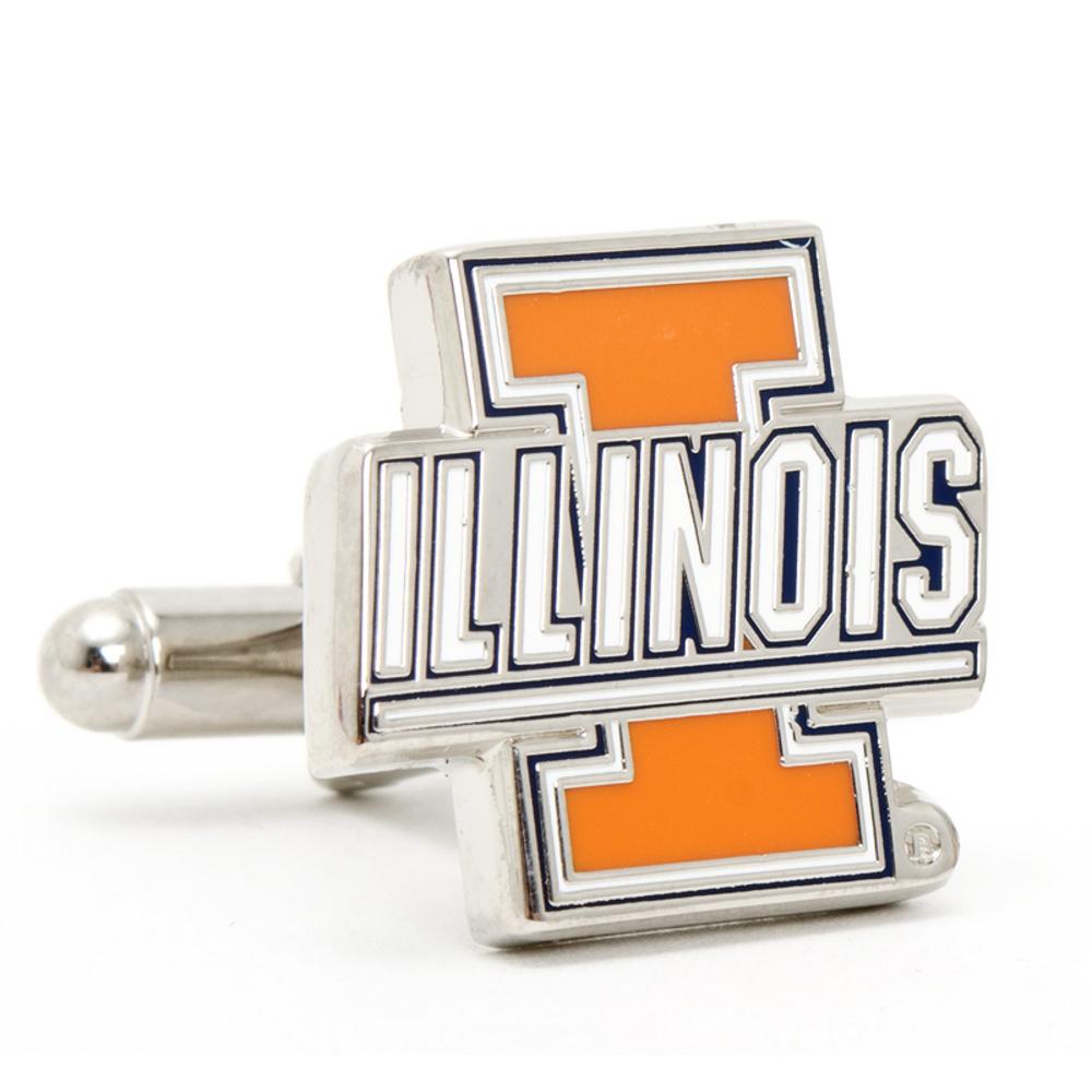 NCAA - Illinois Fighting Illini Cufflinks