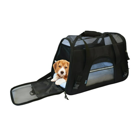 cad6ff15443f KritterWorld 19-Inch Large Soft Sided Pet Carrier Comfort Airline Approved  Travel Tote Shoulder Bag
