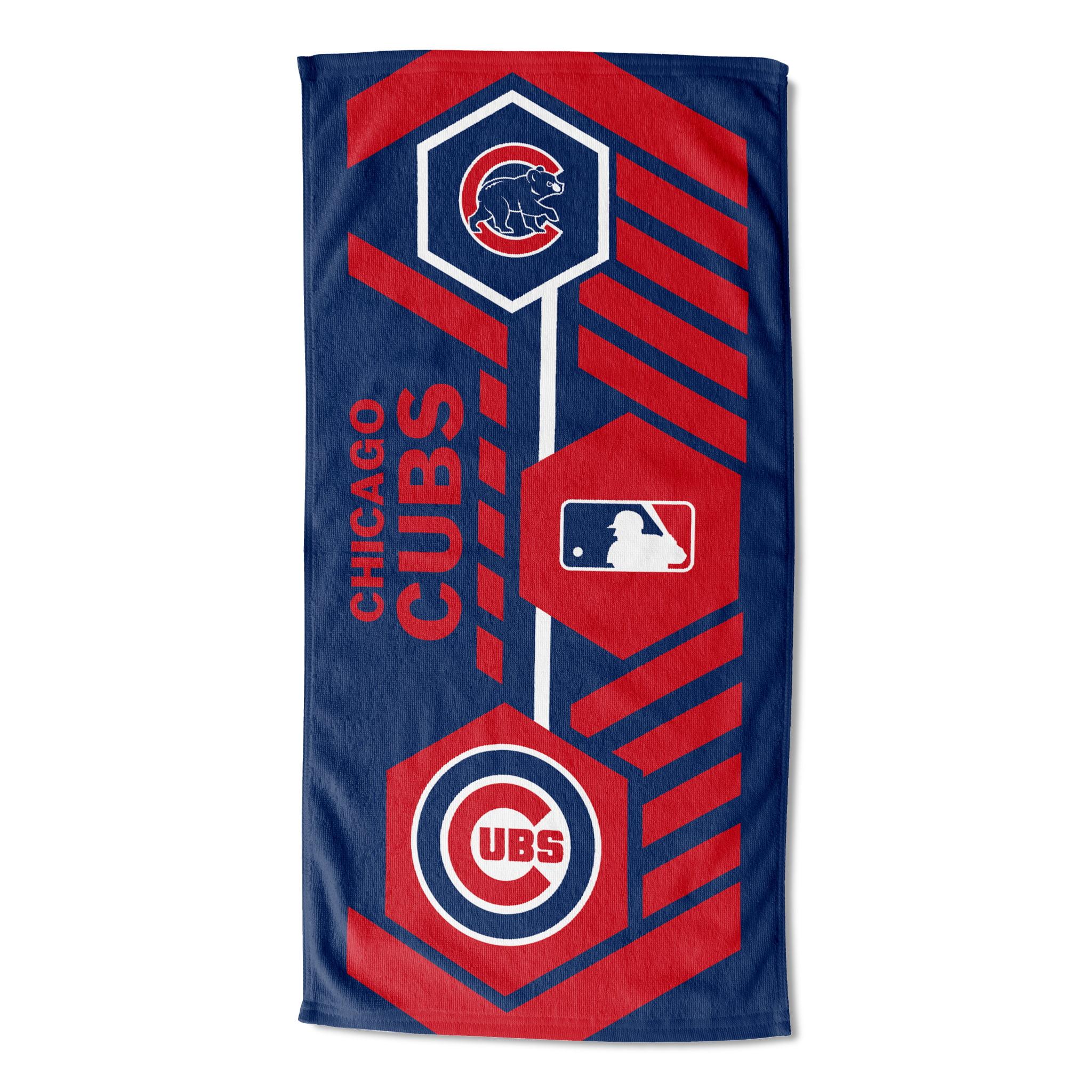 """MLB Chicago Cubs """"Agile"""" 30""""x 60"""" Beach Towel"""