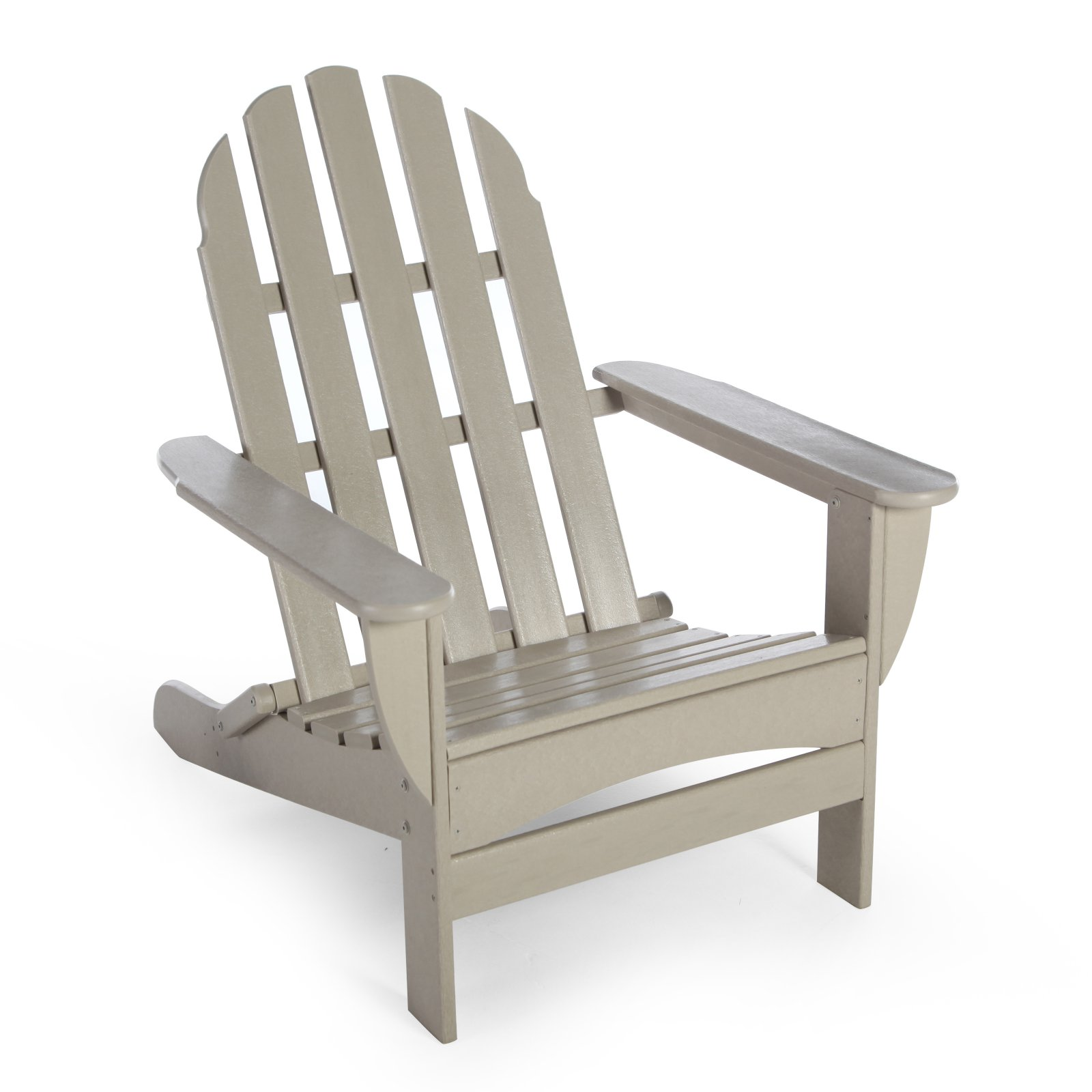 POLYWOOD Recycled Plastic Classic Curveback Adirondack Chair by Poly-Wood