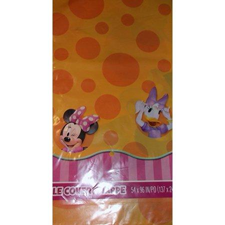 Minnie Orange Table Cover - Orange Table Cover