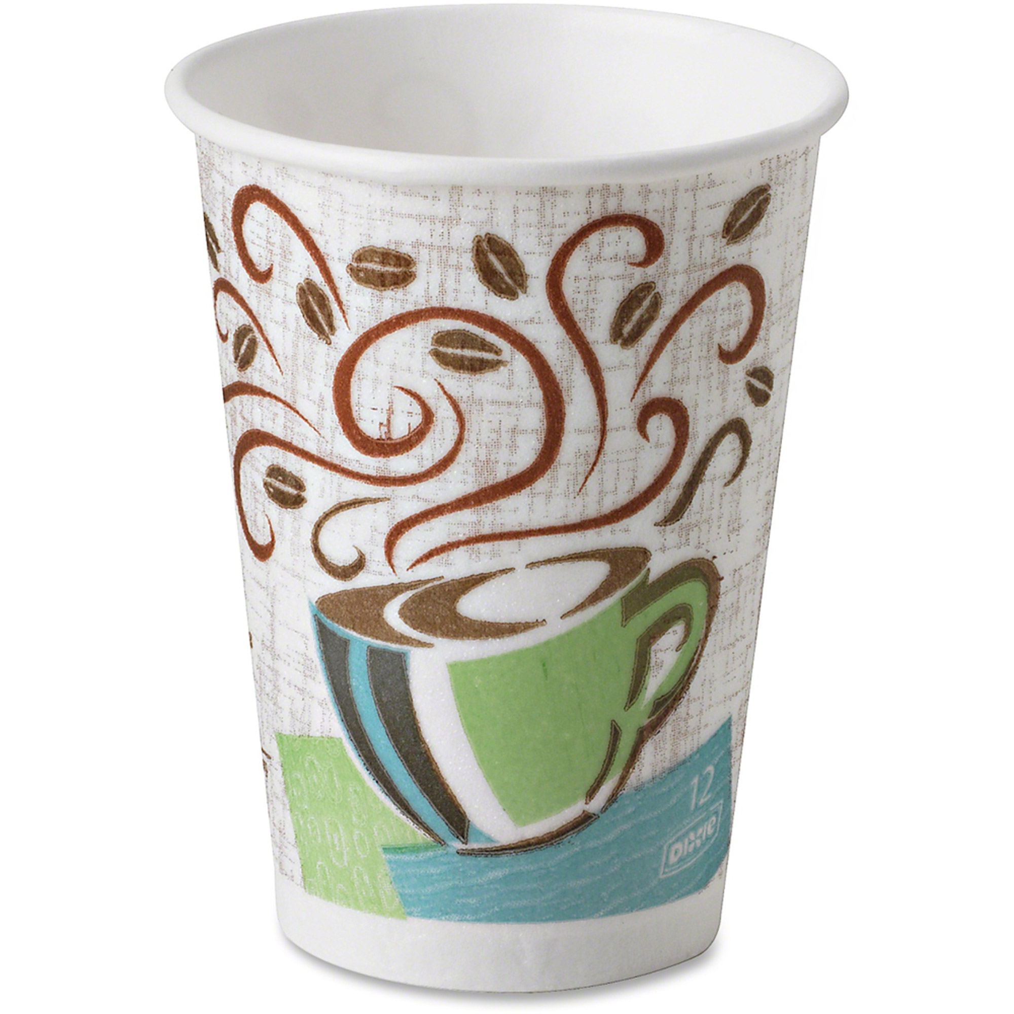 Dixie PerfecTouch Insulated Hot Paper Cups, 12 oz, 160 count